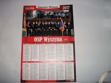 Kalendarz OSP Wyszyna