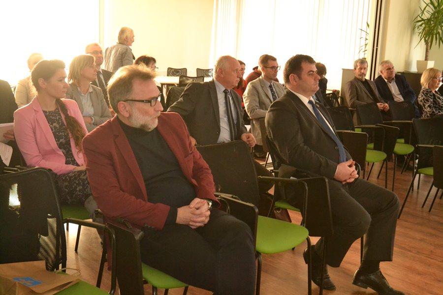Burmistrzowie i wójtowie gmin podsumowali zakończenie projektu partnerskiego