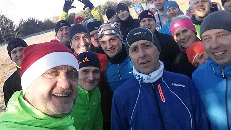 Pożegnali stary rok w Biegu Sylwestrowym - Foto: archiwum prywatne nadesłane przez KB Maraton Turek