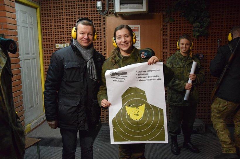 Wideo: Kałasznikow? Glock? Uczniowie ZST radzą sobie z bronią palną