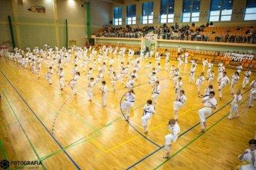Zawodnicy karate stanęli przed egzaminem
