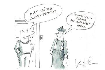 Komentarz satyryczny: Czarny Protest dotrze do...