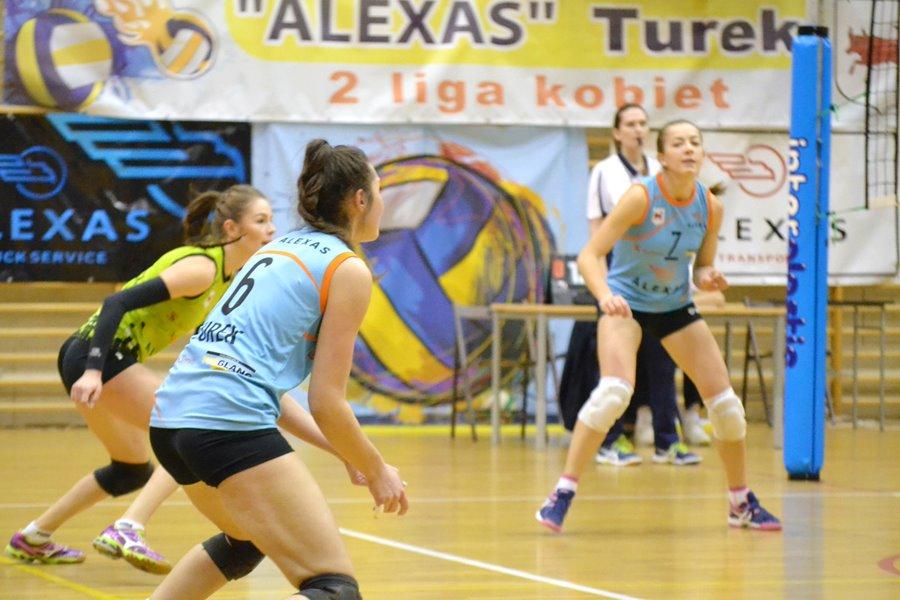 Dziewczyny z ALEXAS TUREK pokonały rywalki 3:0 - Foto: G. Oblizajek