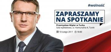 Wipler odwiedzi Turek. Spotkanie z liderem...
