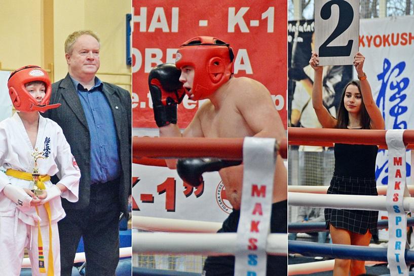 Tuliszków: Na ringu polała się krew, padły potężne ciosy. Turniej K1 pokazał, jak walczą twardzi zawodnicy - foto: Arkadiusz Wszędybył