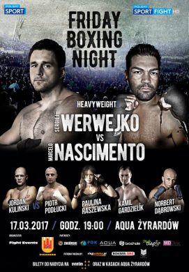 Walka Kamila Gardzielika w Żyradowie - Friday Boxing Night