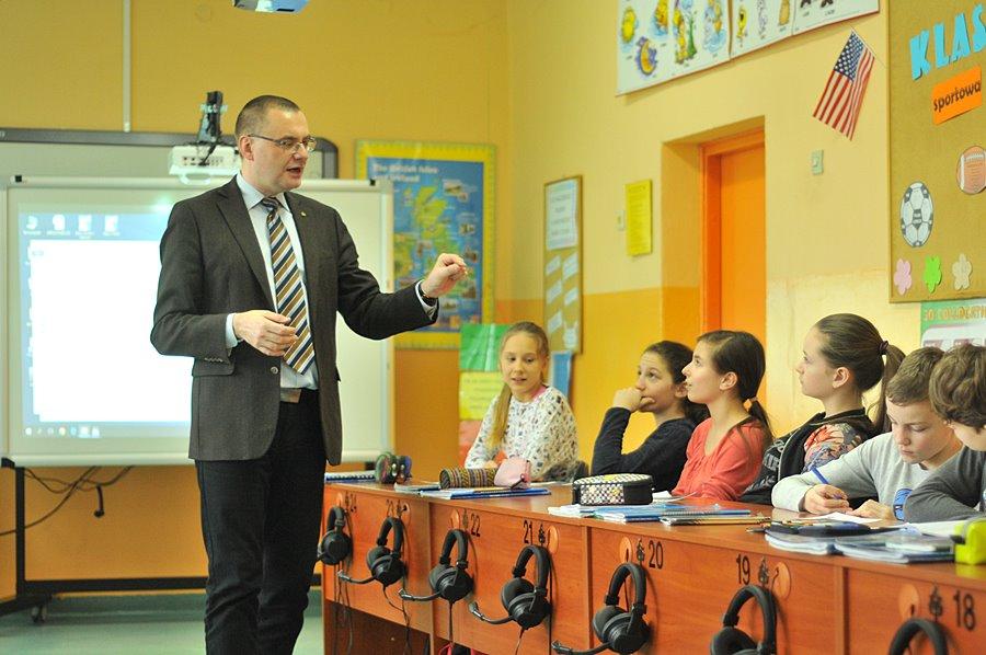 Prof. M. Pawlak: Gramatyka nie jest najważniejsza - foto: M. Derucki