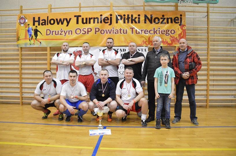 Piłkarze OSP KWB Adamów Mistrzami Powiatu! Strażacy z Chylina i Grąbkowa też spisali się świetnie - foto: Arkadiusz Wszędybył