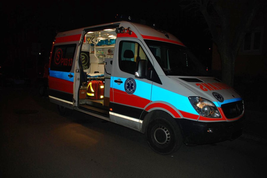 23-latek okradł karetkę Pogotowia Ratunkowego. Miał 2 promile - foto: KPP w Turku / www.turek.policja.gov.pl