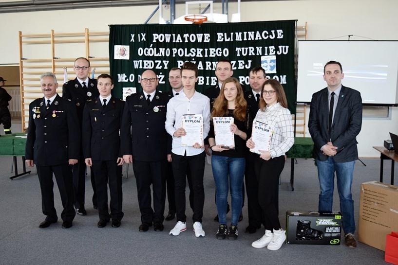 Brudzew: Ogólnopolski Turniej Wiedzy Pożarniczej