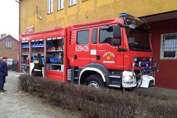 Grzymiszew: Nowy MAN już w garażu! Strażacy...