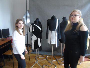 Zajęcia z projektowania odzieży na wydziałach...