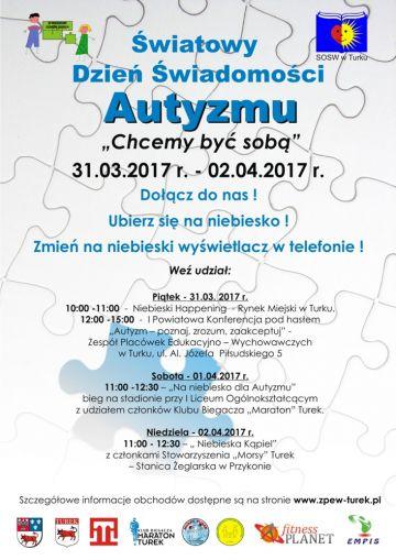 Światowy Dzień Świadomości Autyzmu. Weź w nim udział i Ty