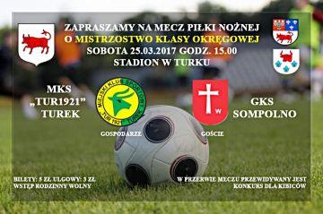 MKS Tur 1921 Turek vs GKS Sompolno