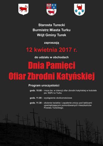 Uczcimy Dzień Pamięci Ofiar Zbrodni Katyńskiej