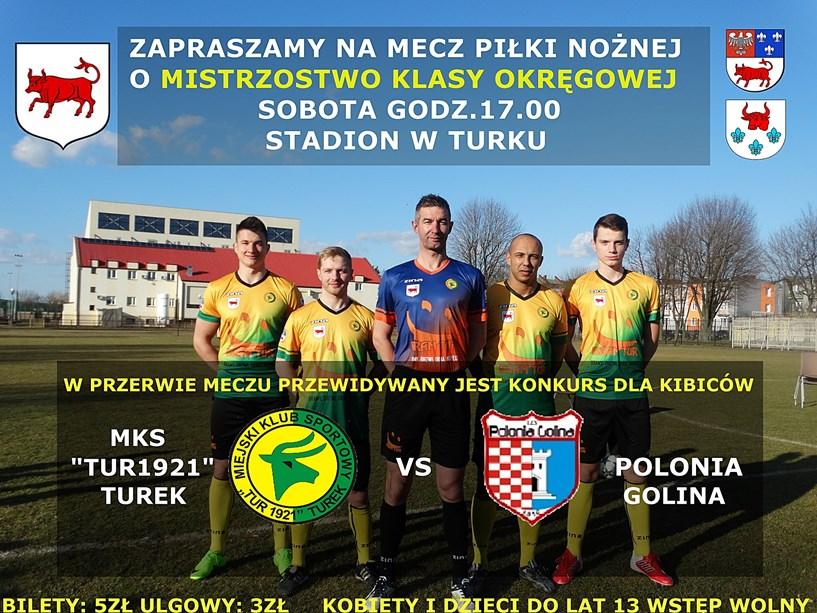 MKS Tur 1921 Turek vs Polonia Golina