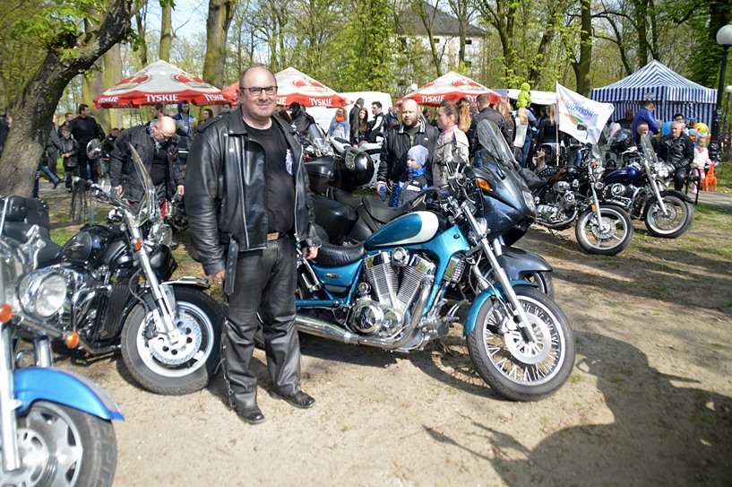 Tuliszków: Motocyklowa Majówka - foto: Arkadiusz Wszędybył