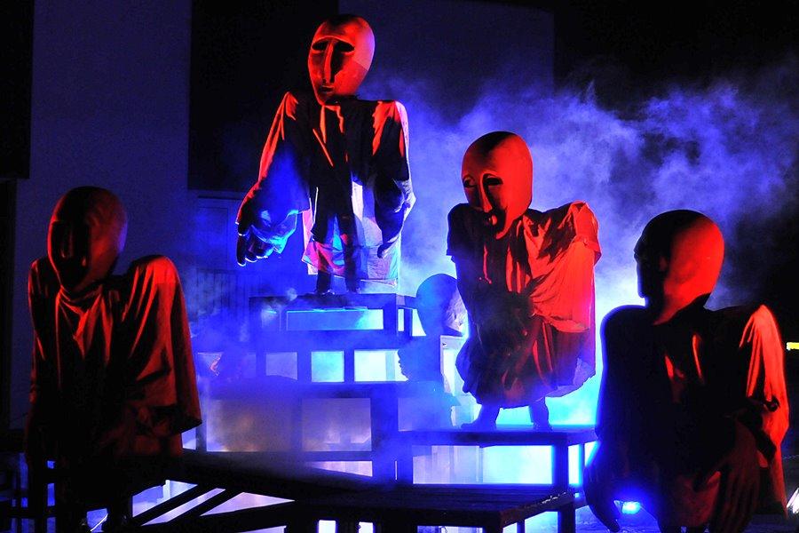 Turkowianie bawili się na teatralnym pikniku - foto: M. Derucki