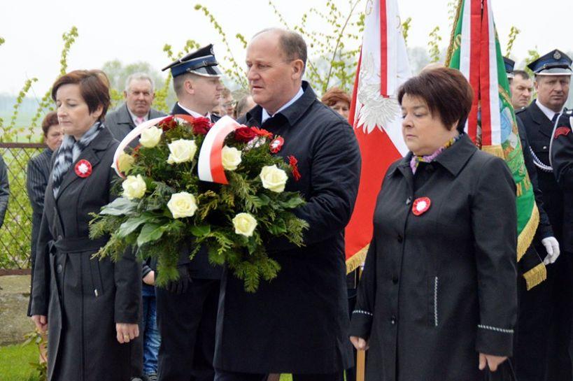 Tokary: 226 rocznica uchwalenia Konstytucji 3 Maja  - foto: Arkadiusz Wszędybył