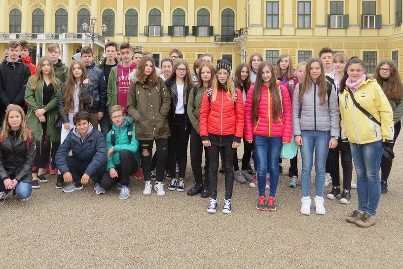 Gimnazjaliści z Jedynki na wycieczce w Austrii