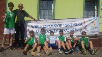 Chłopcy z SP 5 w Turku Mistrzami Rejonu Konińskiego w Czwórboju Lekkoatletycznym Szkół Podstawowych