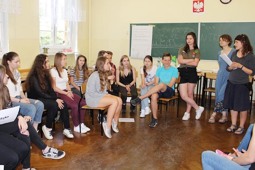 Gimnazjaliści i licealiści na warsztatach