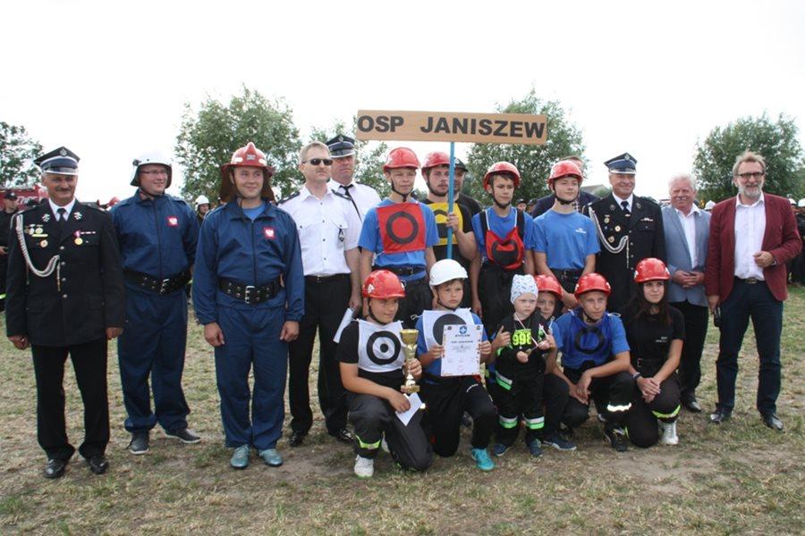 Krwony: OSP Janiszew zwycięzcą Gminnych Zawodów Sportowo-Pożarniczych 2017 - foto. dzięki uprzejmości OK Wozownia
