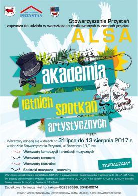 Akademia Letnich Spotkań Artystycznych 2017