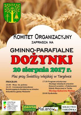 Gminno-Parafialne Dożynki w Targówce