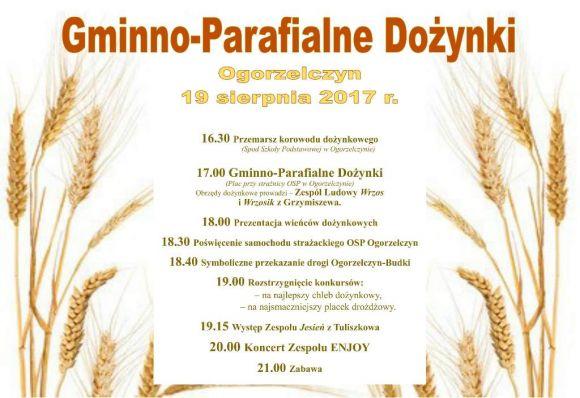 Gminno-Parafialne Dożynki w Ogorzelczynie