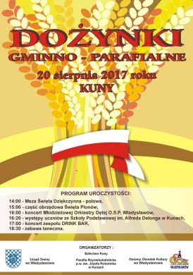 Dożynki Gminno-Parafialne w Kunach