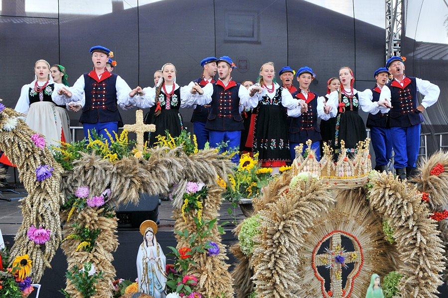 Gm. Turek: Rolnicy i ogrodnicy świętowali w Chlebowie - foto: M. Derucki