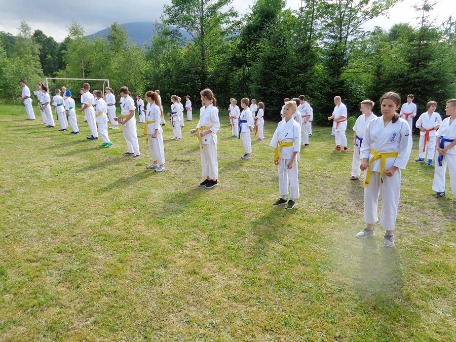 Trenowali w Kowarach, przyjęli Chrzest Samuraja, wędrowali po górach