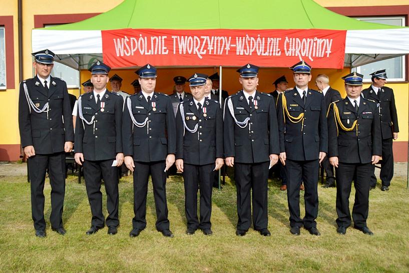 Dąbrowica: Świętowali 100-lecie OSP - foto: Arkadiusz Wszędybył