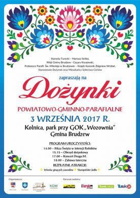 Dożynki Powiatowo-Gminno-Parafialne w Kolnicy