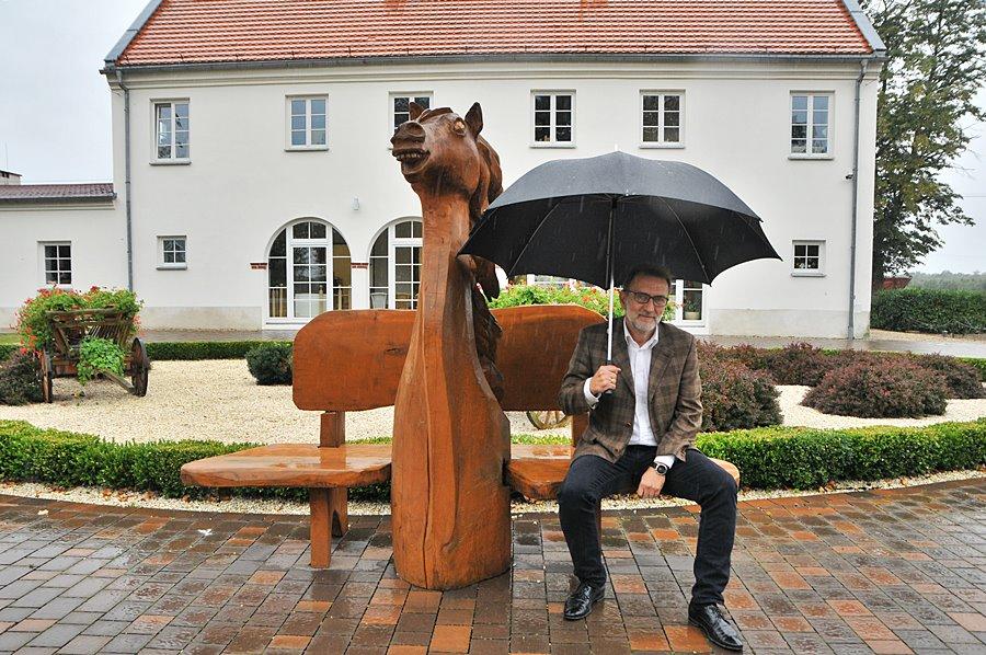 Drewno zamiast węgla. Spółdzielnia sposobem na rewitalizację w gm. Brudzew - foto: M. Derucki
