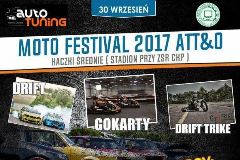 Kaczki Średnie: Moto Festival ATT&O już w sobotę! Drift, tuning, car audio - będzie wszystko, co kochają motomaniacy