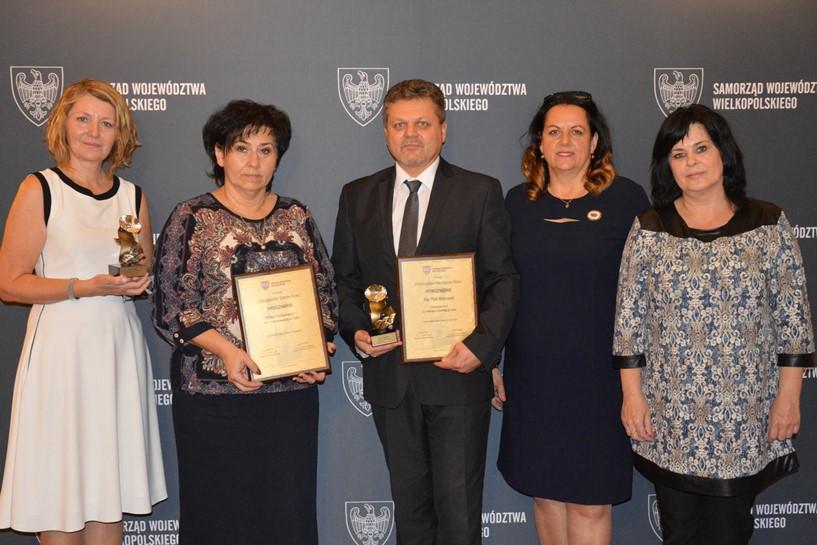 Wyróżnienia dla SP1 w konkursach Wielkopolska Szkoła Roku i Wielkopolski Nauczyciel Roku