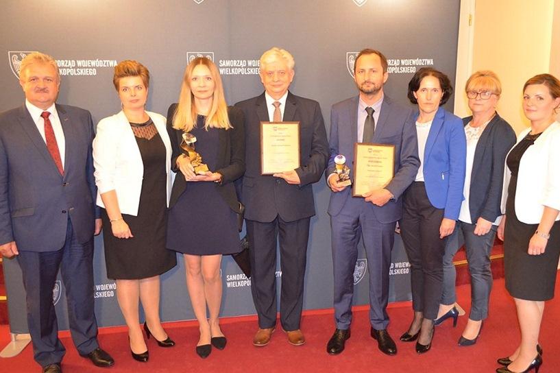 Przykona: Nagrody dla Zespołu Szkół w konkursach  Wielkopolska Szkoła Roku 2017 i Wielkopolski Nauczyciel Roku 2017