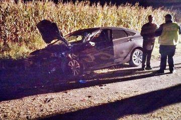 Piorunów: Wyprzedzała, rozbiła swego Hyundaia