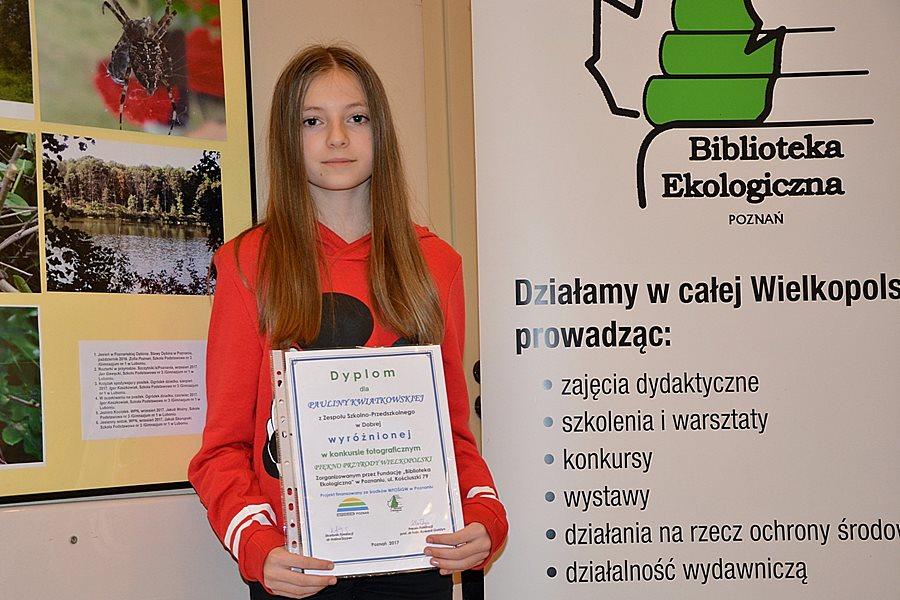 ZS-P w Dobrej: Wyróżnienie w wojewódzkim konkursie fotograficznym