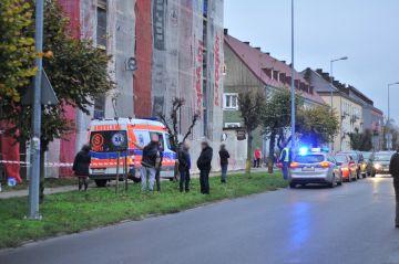Turek: 52-latek spadł z rusztowania....