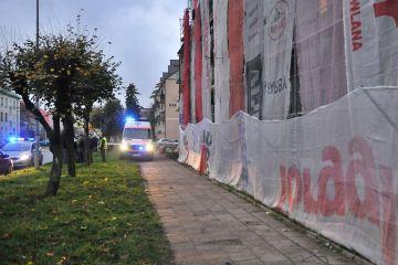 Turek: 52-latek spadł z rusztowania. Budowlaniec stracił życie