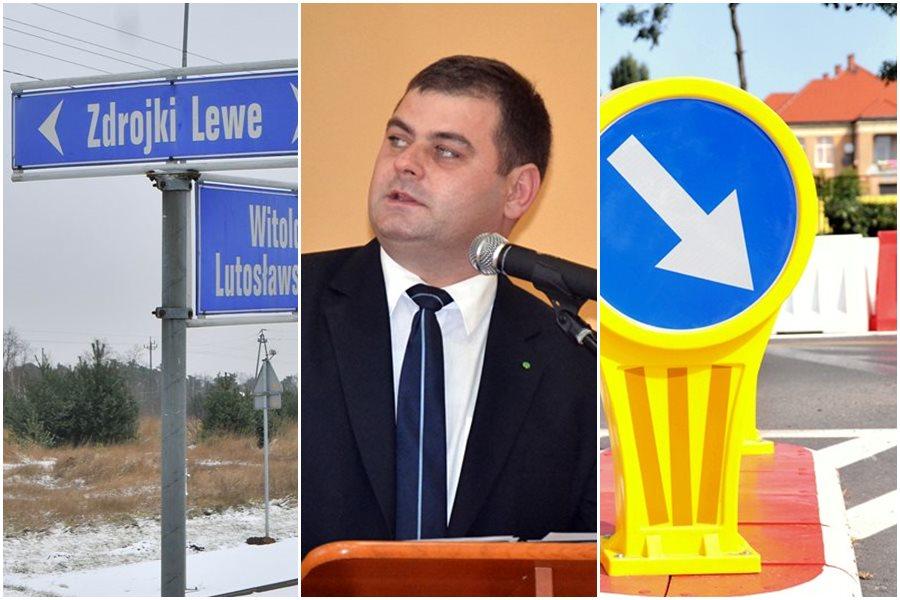 Odrzucono powiatowe wnioski o pieniądze na ul. Zdrojki Lewe i plastikowe rondo - foto: MD, AW