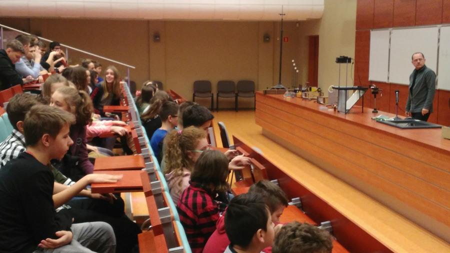 Siódmoklasiści z wizytą na Uniwersytecie Łódzkim