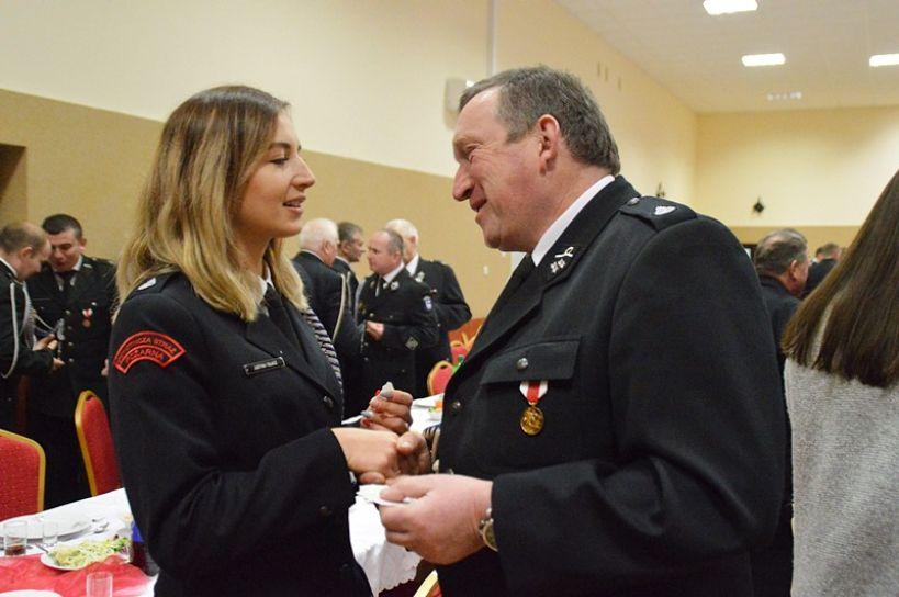 Przykona: Powiatowy opłatek strażaków 2018 - foto: Arkadiusz Wszędybył