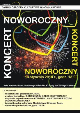 Koncert Noworoczny we Władysławowie