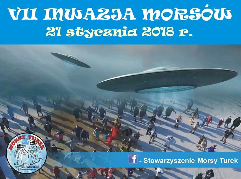 Przykona: VII Inwazja Morsów już 21 stycznia