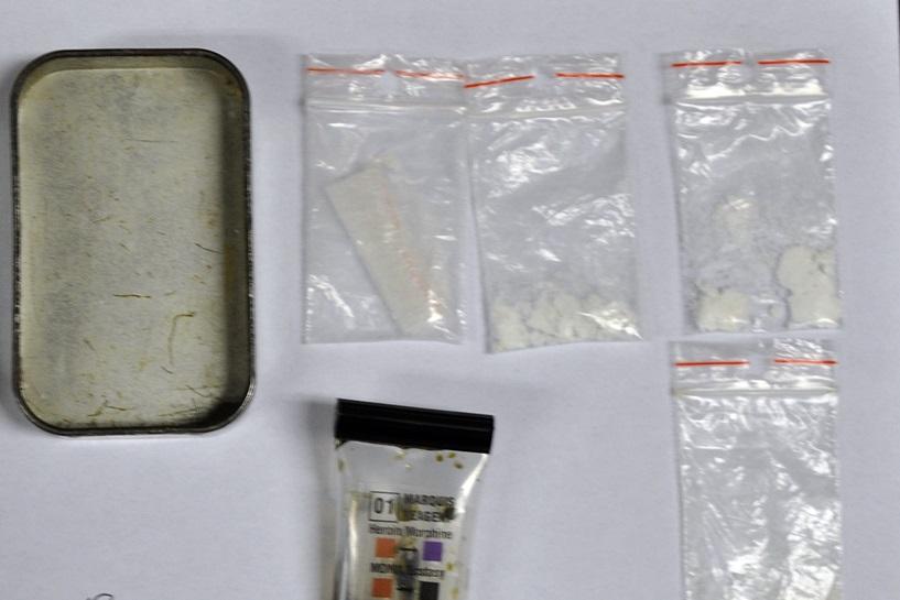 Wielopole: Znaleźli narkotyki podczas kontroli BMW - foto: materiały operacyjne Policji