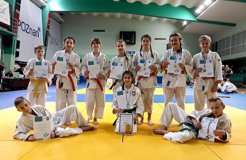 UKS Judo Tuliszków na Mistrzostwach Wielkopolski